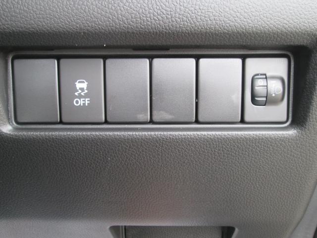 ESP(横滑り防止装置)装備ですがスイッチ操作でオフにもできます