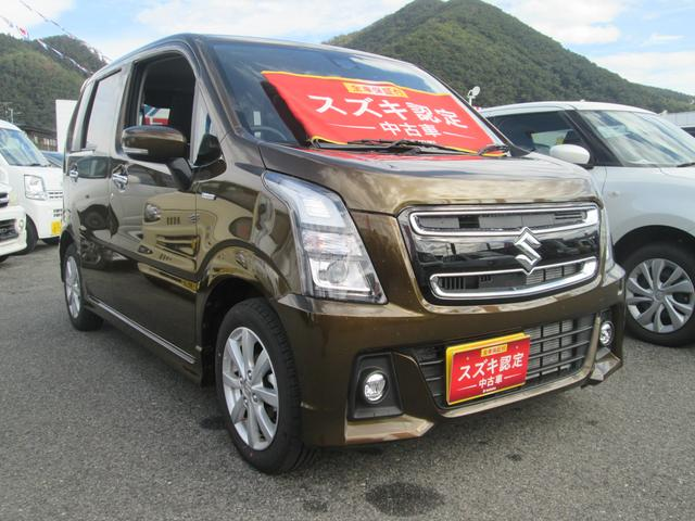 「スズキ」「ワゴンRスティングレー」「コンパクトカー」「山形県」の中古車3