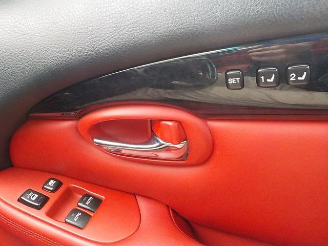 SC430 純正マルチ 18インチ純正アルミ 赤レザー シートヒーター メモリーシート ビルトインETC(13枚目)