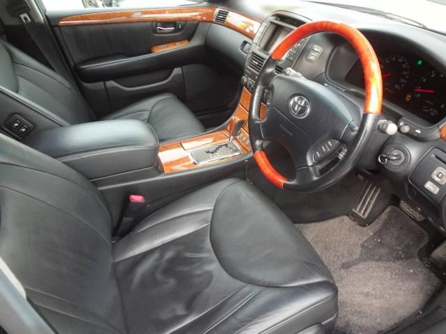 トヨタ セルシオ C仕様 インテリアセレクション 革シート シートヒーター