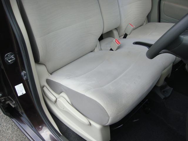運転席シート 座面