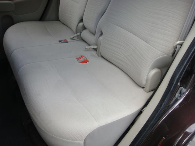 後部シート 左座面