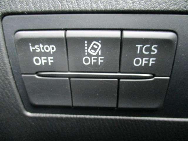 I-STOP・横滑り防止などCX-3は安心して運転いただけるよう、充実した安全装備です。また坂道などで車両のずり下がりを防ぐシステムのヒル・ローンチ・アシストシステムも装備され、安心です。
