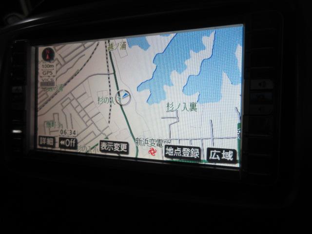 トヨタ ヴォクシー 2.0Z 煌 4WD HDDナビ ティン車高調