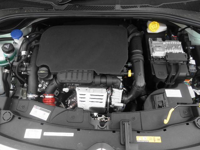 110馬力(カタログ値)の1.2Lターボエンジン!