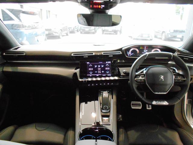 GT ブルーHDi プレミアムレザーエディション 当社試乗車 パッケージオプション付き ナイトビジョン Pアシスト 電動ブラックレザー 衝突軽減ブレーキ アダプティブクルーズ レーンキープ FOCAL 純正19インチAW 新車保証継承(21枚目)
