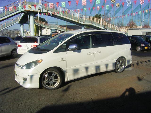 トヨタ エスティマL アエラス Gエディション 4WD フルエアロ 社外マフラー