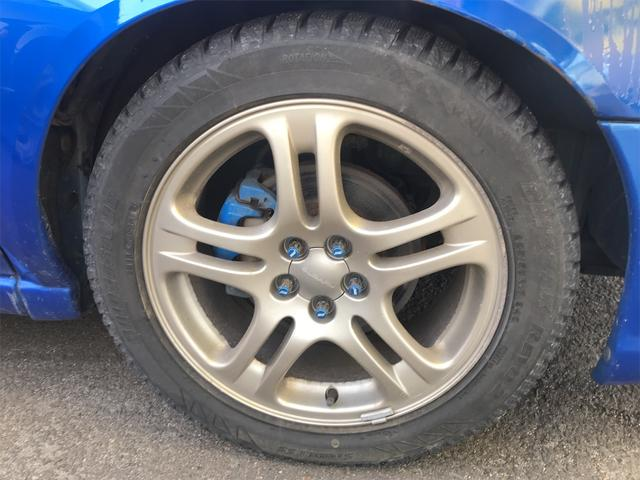 WRX NB STIインタークーラー 4WD ゲノムマフラー(6枚目)