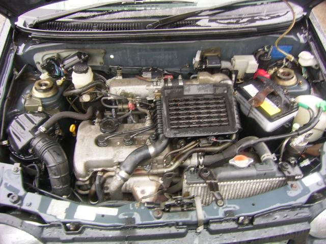 スズキ アルトワークス RS/Zターボ K6Aエンジン