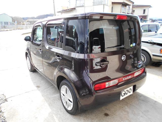 日産 キューブ 15X FOUR e-4WD