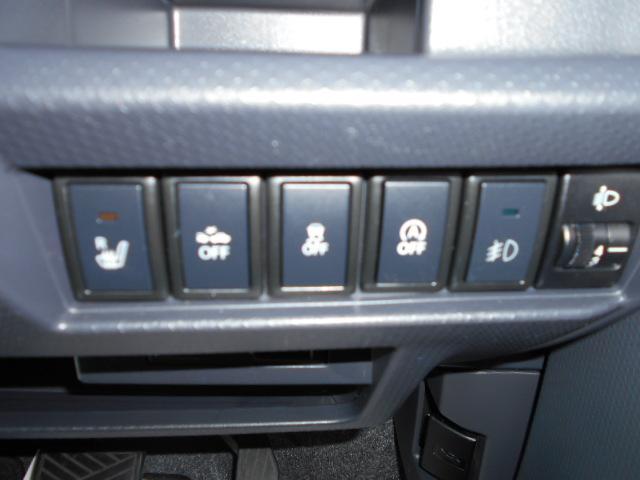 両席シートヒーター・横滑り防止装置・アイドリングストップ