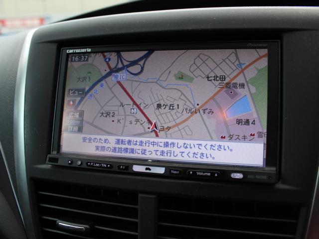 WRX STI ワンオーナー カロッツェ楽ナビ ETC(10枚目)