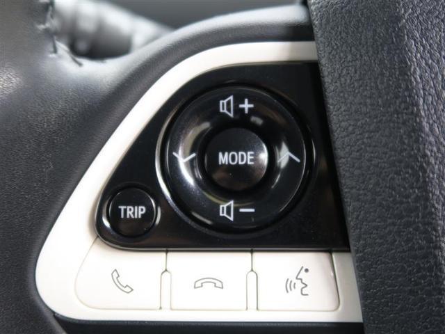 【ステアリング付属のスイッチ】オーディオの操作が可能です。