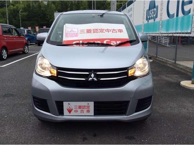 三菱 eKワゴン 660 E 三菱認定中古車