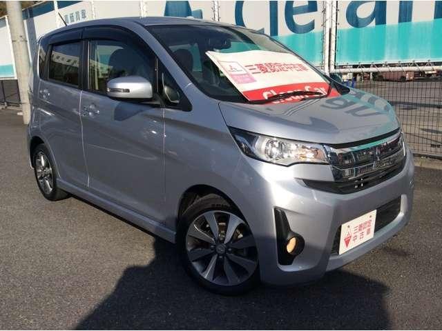 三菱 eKカスタム 660 Tターボ 4WD 三菱認定中古車