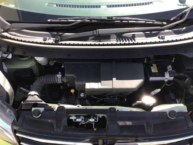 M e-アシスト 衝突被害軽減ブレーキ プライバシーガラス タッチパネル式オートエアコン リアワイパー ベンチシート 1年間走行距離無制限の中古車保証付き(有償となりますが1年又は2年間の保証の延長も可能です)(17枚目)