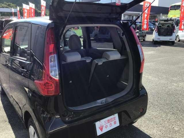 M キーレスエントリー アイドリングストップ タッチパネル式オートエアコン プライバシーガラス リアワイパー ベンチシート シートヒーター 1年間走行距離無制限の中古車保証付き(1年又は2年間の延長も可)(18枚目)