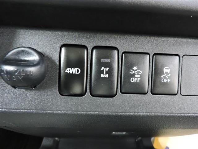 スイッチで2WDと4WDが切り替え可能なパートタイム4WDです