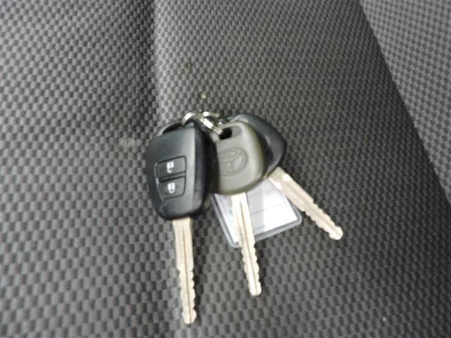キーのボタンでドアの開閉が可能!