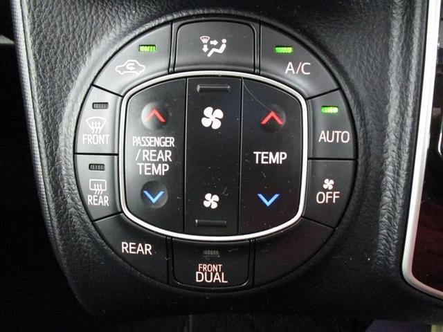 【デュアルモードエアコン】 左右でエアコン温度を別々に設定が可能。暑がりと寒がりが一緒に乗車しても大丈夫ですよ!