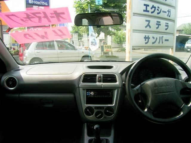 スバル インプレッサスポーツワゴン 15i 4WD 5MT