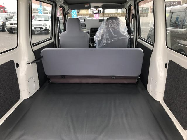 スペシャル 4WD 5速MT 軽バン 両側スライドドア(9枚目)