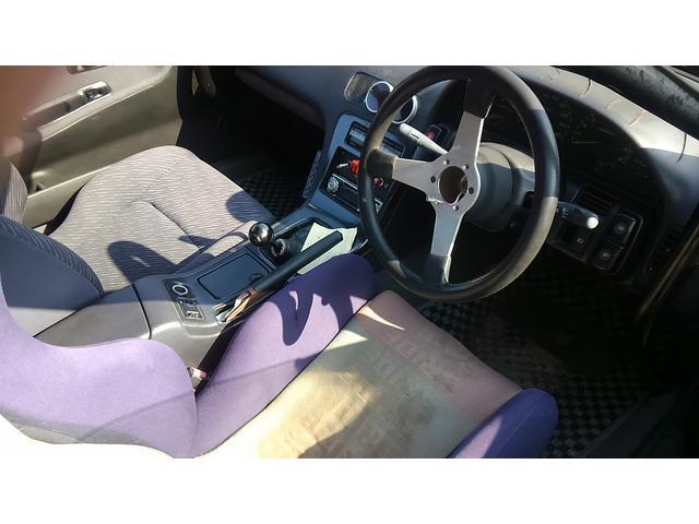 日産 シルビア K's ワンビア 前置き・デフ・車高調・ロールバー