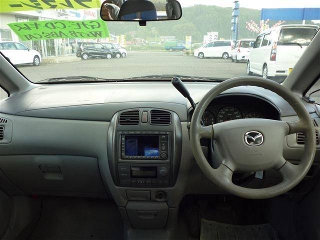 マツダ プレマシー ベースグレード 4WD 純正ナビ CD キーレス ABS