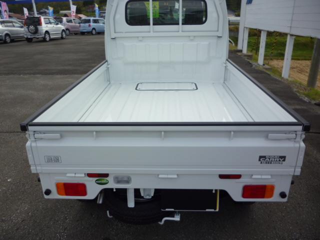 スズキ キャリイトラック KCパワステ農繁仕様 4WD 届出済未使用車 デフロック