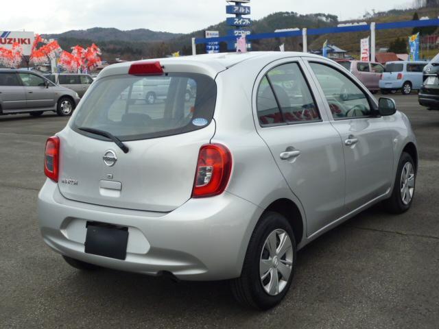 日産 マーチ X FOUR 4WD スマートキー ナビ CD ETC