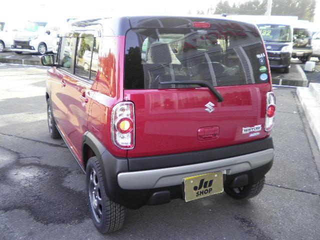 スズキ ハスラー G 4WD Sエネチャージ 届出済未使用車