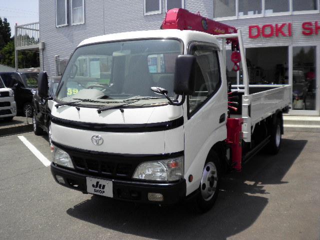トヨタ ダイナトラック 2t4段クレーン古河URV260関東仕入