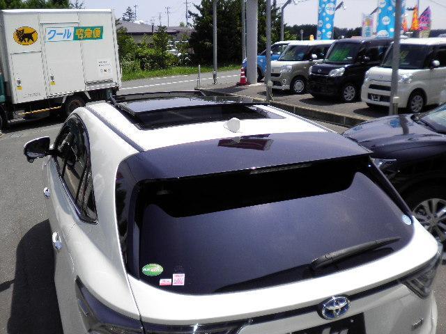 トヨタ ハリアーハイブリッド プレミアム サンルーフ 4WD 安心保証3年