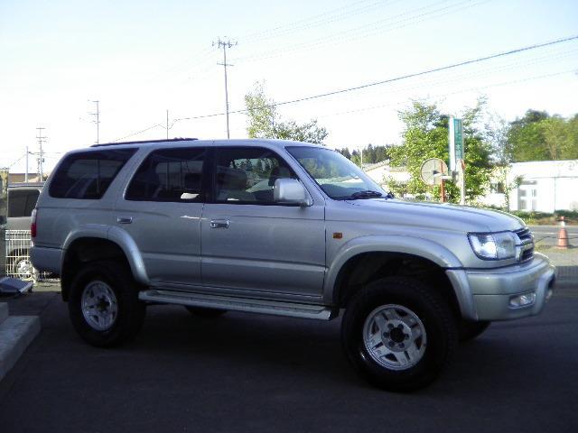 「トヨタ」「ハイラックスサーフ」「SUV・クロカン」「青森県」の中古車3