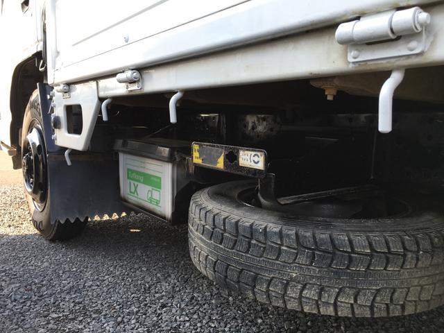 いすゞ エルフトラック フラットロー 4WD 5速 フル装備