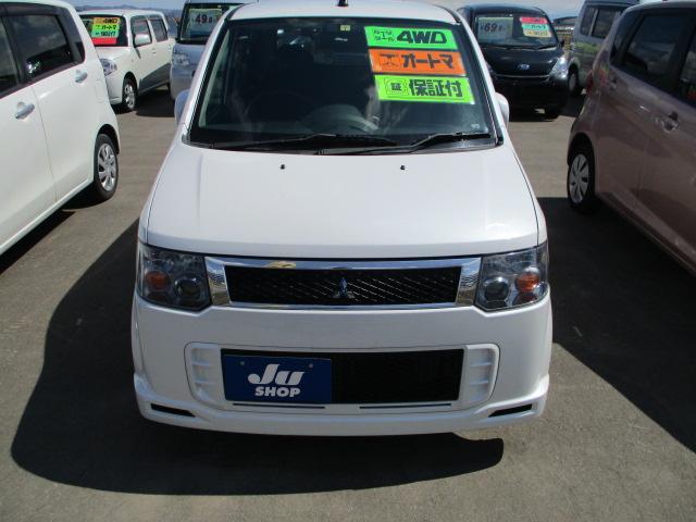 X 4WD 軽自動車 ホワイトパール AT AC(2枚目)