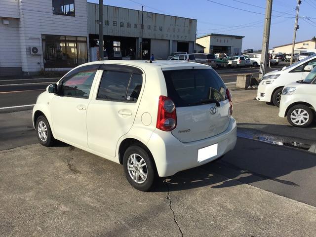 「トヨタ」「パッソ」「コンパクトカー」「青森県」の中古車5