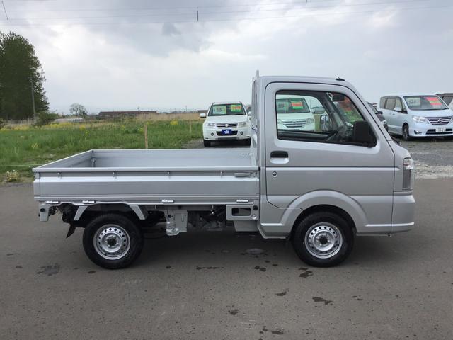 KCエアコン・パワステ 4WD オートマ 届出済未使用車(4枚目)