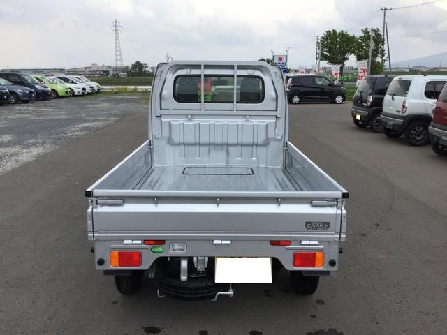 KCエアコン・パワステ 4WD オートマ 届出済未使用車(6枚目)