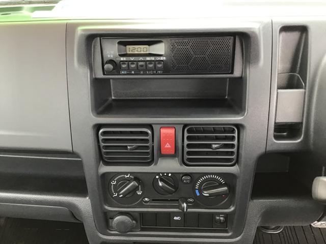 KCエアコン・パワステ 4WD オートマ 届出済未使用車(9枚目)