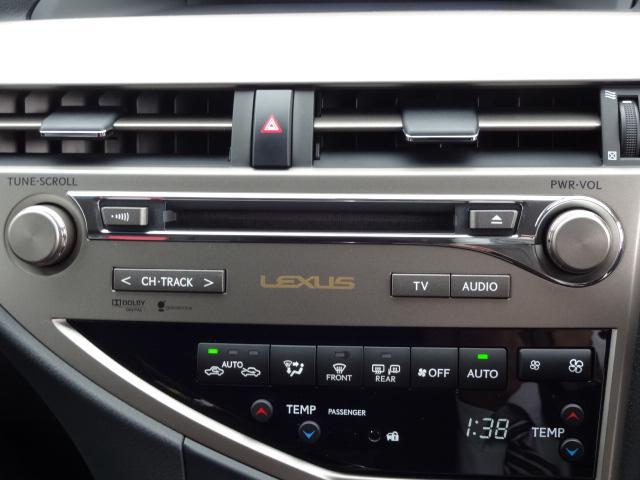 レクサス RX RX450h 4WD