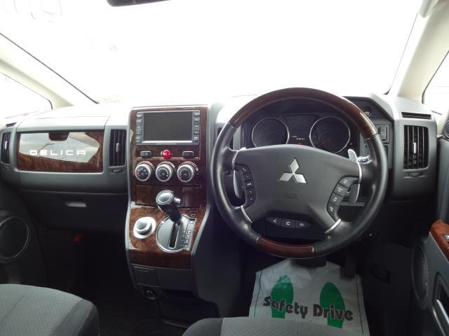 シャモニー 4WD 両側パワースライドドア 純正HDDナビ(3枚目)