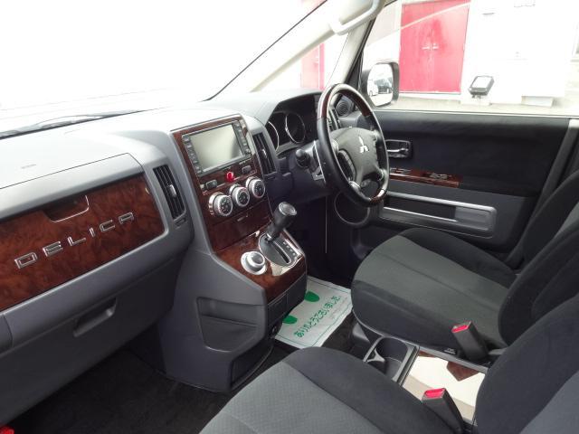 シャモニー 4WD 両側パワースライドドア 純正HDDナビ(4枚目)