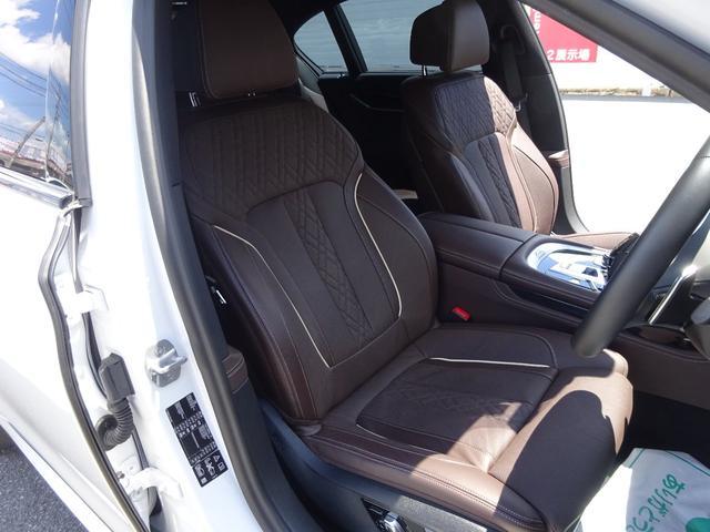 740d xDrive Mスポーツ 4WD 1オーナー ディーゼル 純正HDDナビ フルセグTV 全方位モニター ブラウンレザーシート サンルーフ インテリジェントセーフティ シートヒーター LEDヘッドライト ドラレコ ETC(5枚目)
