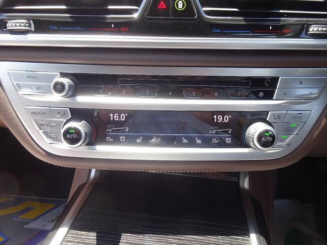 740d xDrive Mスポーツ 4WD 1オーナー ディーゼル 純正HDDナビ フルセグTV 全方位モニター ブラウンレザーシート サンルーフ インテリジェントセーフティ シートヒーター LEDヘッドライト ドラレコ ETC(19枚目)