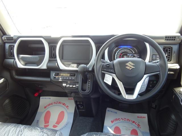 ハイブリッドG 4WD 届出済未使用車 デュアルカメラブレーキサポート シートヒーター ステアリングスイッチ スマートキー 純正フロアマット・純正バイザー・スタッドレス・アルミホイール付(3枚目)