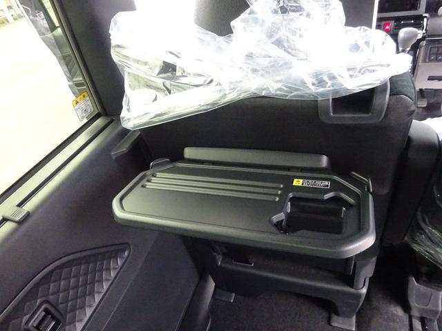 カスタムXスタイルセレクション 4WD 届出済未使用車 ナビ装着用アップグレードパック スマアシ 両側パワースライドドア LEDヘッドライト シートヒーター 純正マット・純正バイザー・スタッドレス・アルミホイール付き(9枚目)
