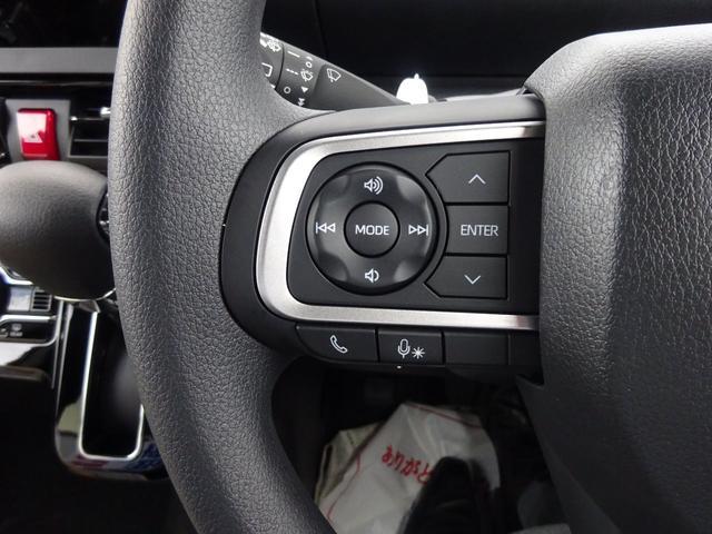 カスタムXスタイルセレクション 4WD 届出済未使用車 ナビ装着用アップグレードパック スマアシ 両側パワースライドドア LEDヘッドライト シートヒーター 純正マット・純正バイザー・スタッドレス・アルミホイール付き(13枚目)