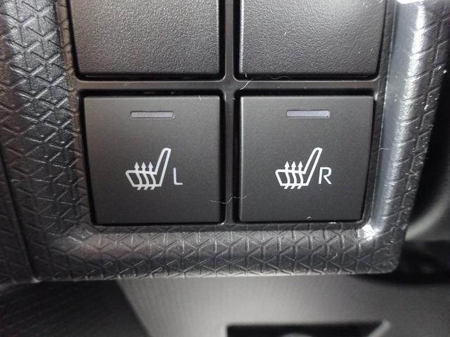 カスタムXスタイルセレクション 4WD 届出済未使用車 ナビ装着用アップグレードパック スマアシ 両側パワースライドドア LEDヘッドライト シートヒーター 純正マット・純正バイザー・スタッドレス・アルミホイール付き(19枚目)