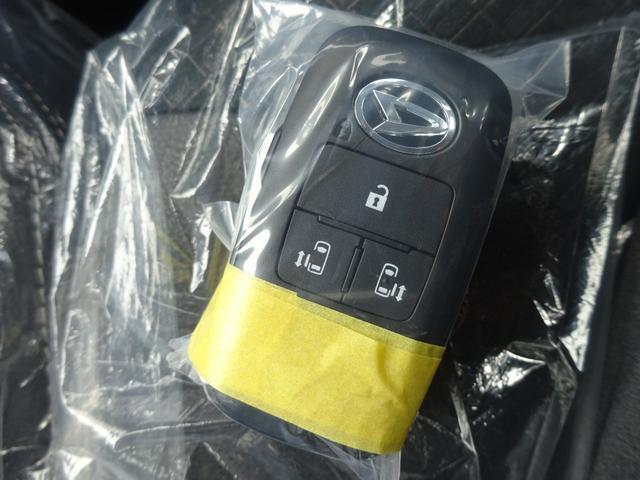 カスタムXスタイルセレクション 4WD 届出済未使用車 ナビ装着用アップグレードパック スマアシ 両側パワースライドドア LEDヘッドライト シートヒーター 純正マット・純正バイザー・スタッドレス・アルミホイール付き(21枚目)
